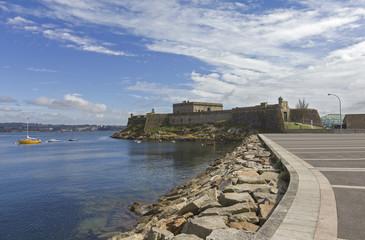 San Anton castle,A Coruña,Galicia,Spain