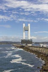 Maritime control tower, A Coruna, Spain