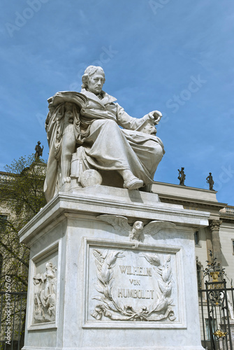 Monument to Wilhelm von Humboldt in Berlin