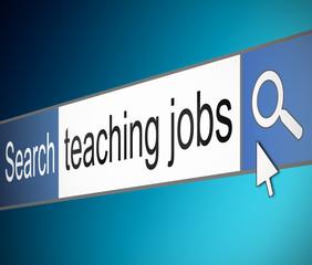Teaching jobs search.