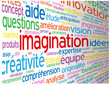 """Nuage de Tags """"IMAGINATION"""" (idées solutions créativité rêves)"""