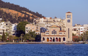 Saint Constantine and Helen church, Volos, Thessaly, Greece
