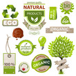 ecology and nature emblems