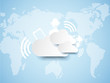 CLOUD COMPUTING BACKGROUND NEW STYLE