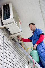 Repair air conditioning