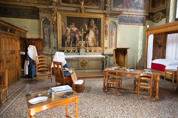 Hospices de Beaune - salle avec tableaux