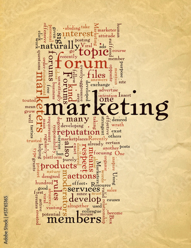 Using Forums in Viral Marketing