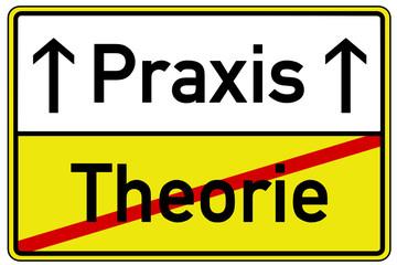Praxis Theorie Schild  #130424-svg01