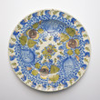 Old ceramic dish from Talavera, Spain. Circa 19th century