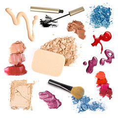 group of make-up