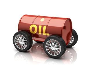 petroleum fuels vehicle 3d concept