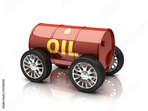 petroleum fuels vehicle 3d concept