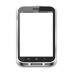 Smartphone isolated