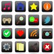 Social media web buttons for website