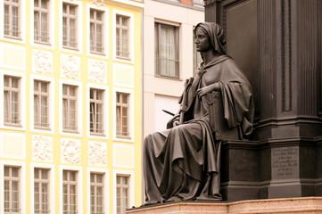 Dresden Friedrich August Denkmal Detail