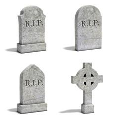 gravestone set