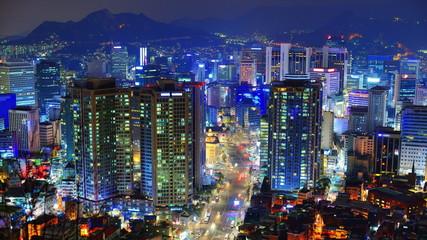 Seoul, South Korea Time Lapse