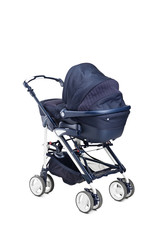 A modern baby stroller