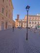 Roma, piazza San Silvestro, veduta