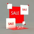 Sale 3D illustration