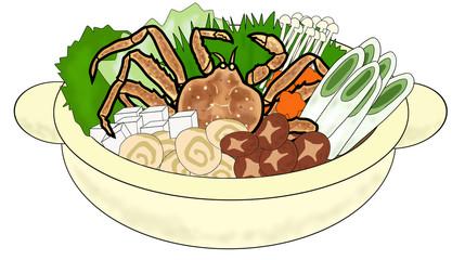蟹の鍋料理
