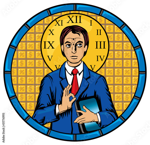 Business man Pantocrator
