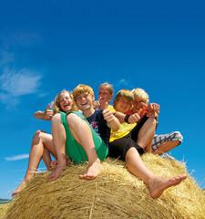 Glückliche Teenager