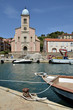 Port and church of Port-Vendres in France