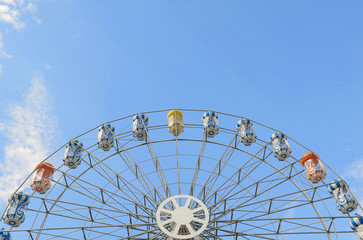 view of a ferris wheel