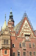 Breslauer Rathaus Fassade