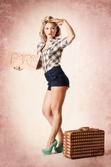Pin-up Girl will nach Paris