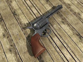 Pistole - Konzept Wilder Westem