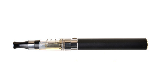 E- cigarette. Device to smokeless smoking.