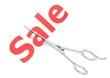 Sale cut
