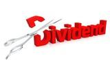 Scissor and dividend poster