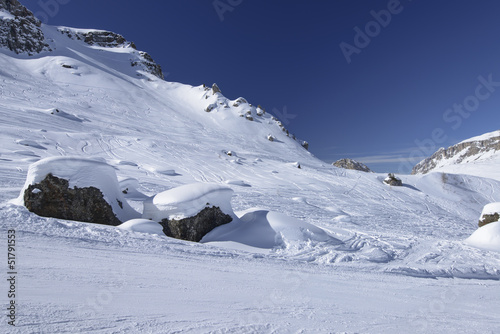 snowy stones, Arabba