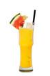 Orangen alcohol Cocktail mit Melone