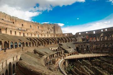 Amphitheatre of The Colosseum or Coliseum