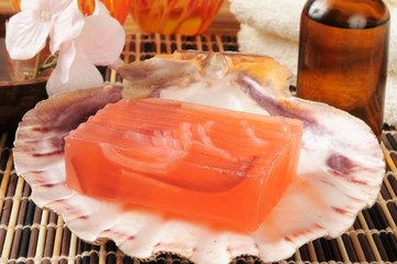Luxury glycerin soap