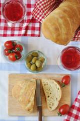 Italienischer Mittagstisch - Table Setting