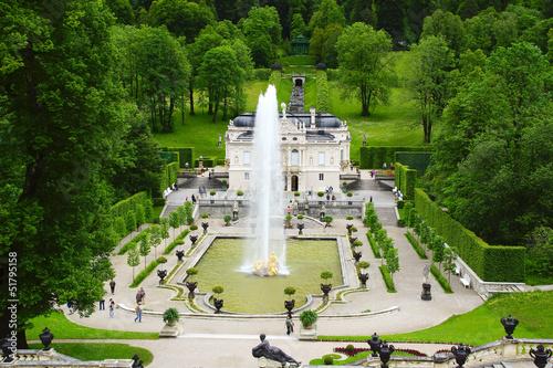 Linderhof Palace.