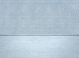 Empty room -digital background for studio photographers