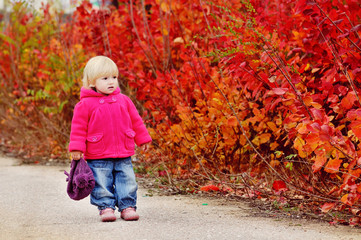 autumn toddler