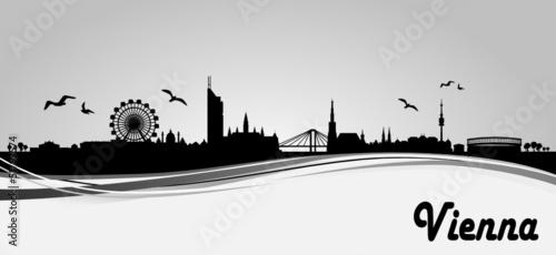 Skyline Wien Banner