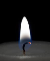 White candlelight