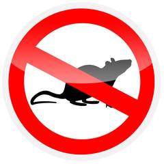 Sinal - eliminação de ratos
