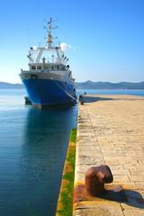 Ship in Zadar