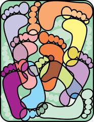 Diversity footprints