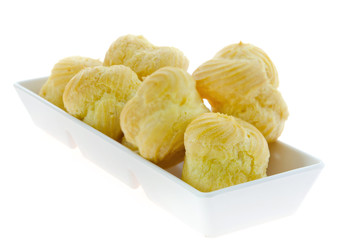Choux in  bowl
