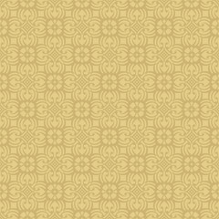 Beige Colors Flower and Plant Pattern Design. Korean traditional